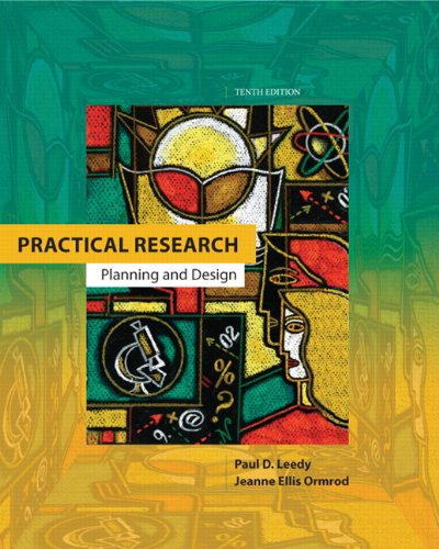 9780132693240: Practical Research: Planning and Design (10th Edition)