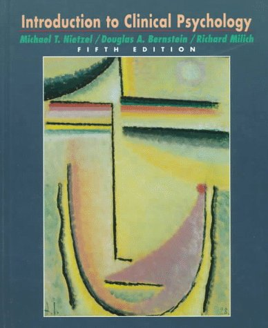 9780132695497: Introduction to Clinical Psychology (5th Edition)