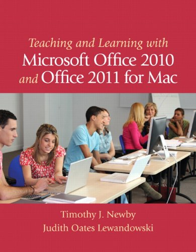 9780132698092: Teaching and Learning with Microsoft Office 2010 and Office 2011 for Mac