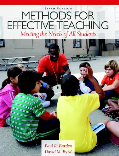 9780132698160: Methods for Effective Teaching: Meeting the Needs of All Students