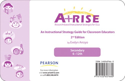 9780132700221: ARISE Instructional Strategy Card Set 6-12