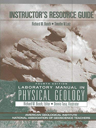 9780132702812: Instructor's Resource Guide: Laboratory Manual in Physical Geology