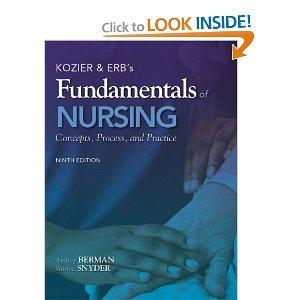 9780132706544: Kozier &Erb's Fundamentals of Nursing Plus Mynursinglab