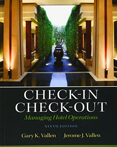9780132706711: Check-in Check-Out: Managing Hotel Operations (9th Edition)