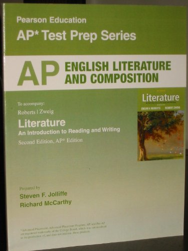 9780132708531: AP English Literature and Composition, To accompany Literature: An Intro. to Reading and Writing, 2nd Edition (AP* Test Prep Series)