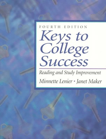 9780132709354: Keys to College Success: Reading and Study Improvement (4th Edition)