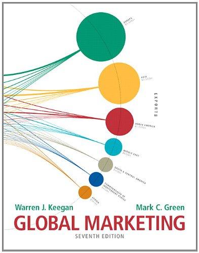 9780132719155: Global Marketing (7th Edition)
