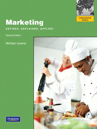 9780132719896: Marketing:Defined, Explained, Applied: International Edition