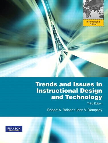 9780132719940: Trends and Issues in Instructional Design and Technology: International Edition