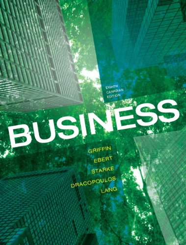 Business-Text only CANADIAN 8TH Edition: GRIFFIN
