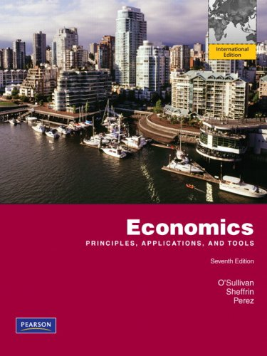 9780132722001: Economics: Principles, Applications and Tools
