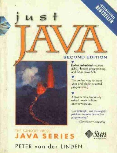 9780132723039: Just Java (SunSoft Press Java)