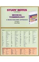 9780132724135: Study Notes for Medical Terminology: A Word Building Approach