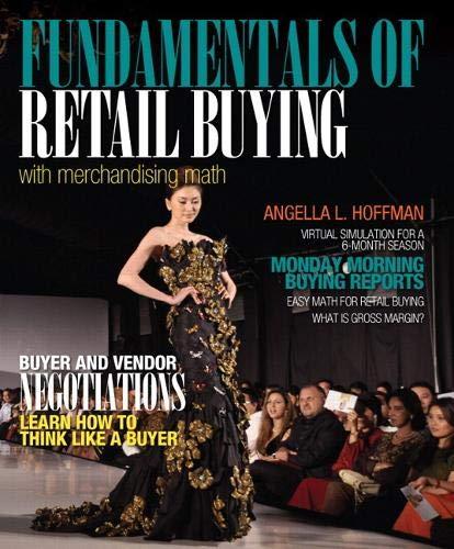9780132724142: Fundamentals of Merchandising Math and Retail Buying (Fashion)