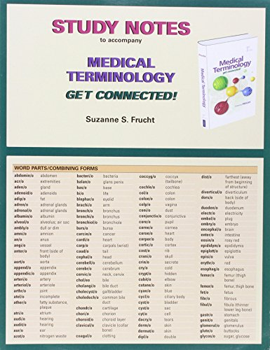 9780132724258: Study Notes for Medical Terminology: Get Connected!