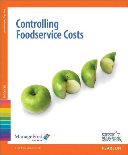 9780132724845: ManageFirst: Controlling FoodService Costs with Online Testing Voucher (Managefirst Program)
