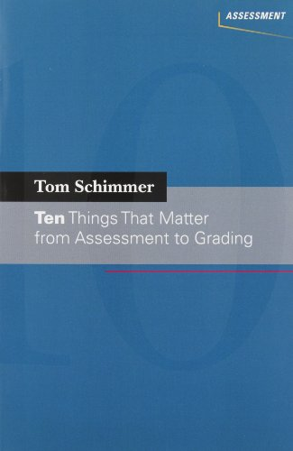 9780132725101: Ten Things That Matter from Assessment to Grading