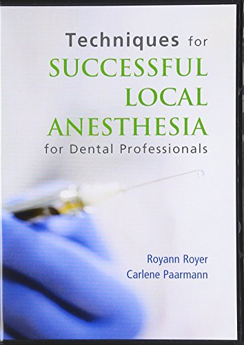9780132725392: Techniques for Successful Local Anesthesia DVD