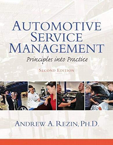 9780132725408: Automotive Service Management (2nd Edition) (Automotive Comprehensive Books)