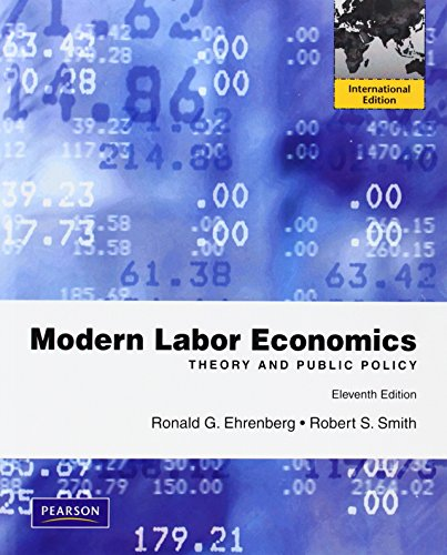 9780132727655: Modern Labor Economics: Theory and Public Policy