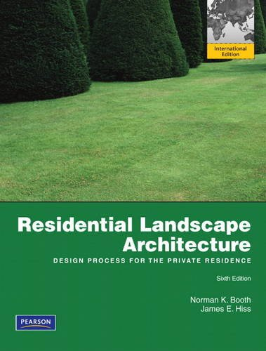 9780132727723: Residential Landscape Architecture:Design Process for the Private Residence: International Edition