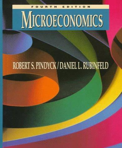 Microeconomics: Pindyck, Robert S.,