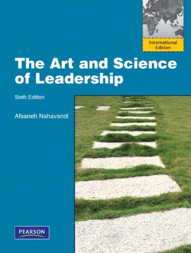 9780132729741: The Art and Science of Leadership: International Edition