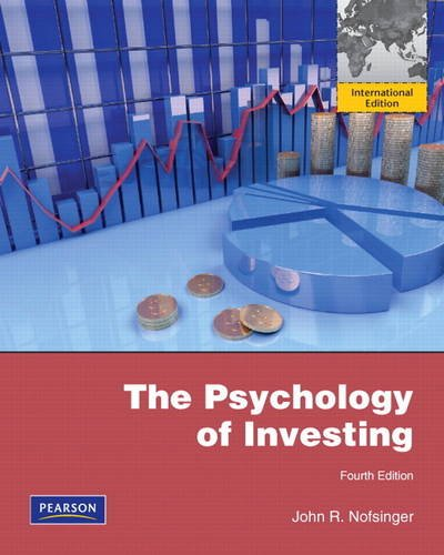 9780132729758: Psychology of Investing: International Edition