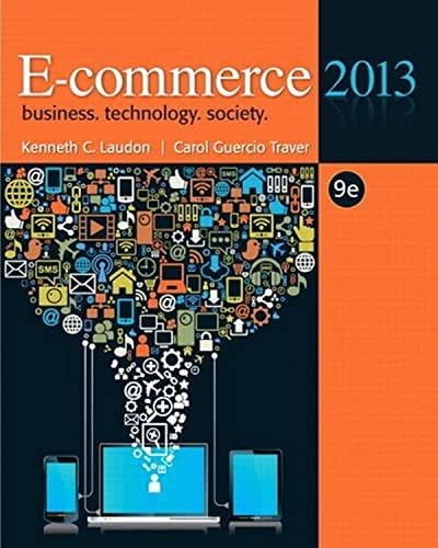 9780132730358: E-commerce 2013 (9th Edition)