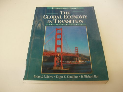 9780132732932: The Global Economy in Transition (Prentice Hall international editions)