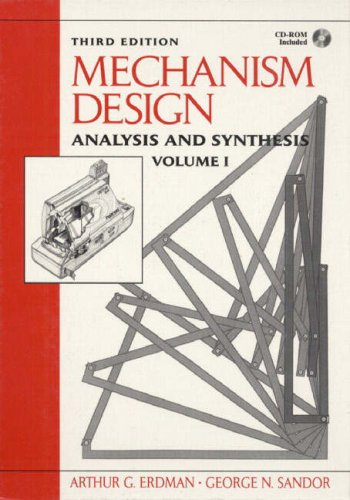 9780132733434: Mechanism Design: Analysis and Synthesis Vol 1 (Prentice Hall international editions)
