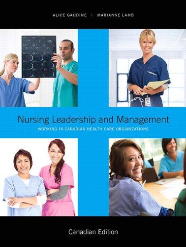 9780132735971: Nursing Leadership and Management