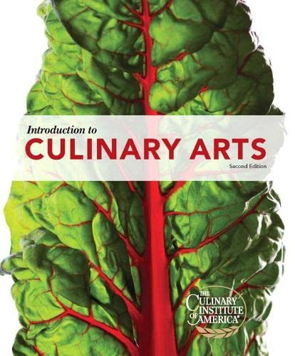 9780132737449: Introduction to Culinary Arts