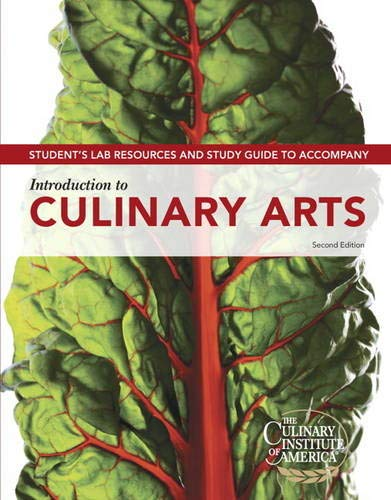 9780132738217: Student Lab Resources & Study Guide for Introduction to Culinary Arts