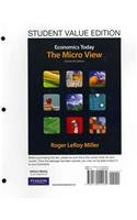 9780132738460: Economics Today: The Micro View, Student Value Edition plus MyEconLab with Pearson eText Student Access Code Card Package (16th Edition)
