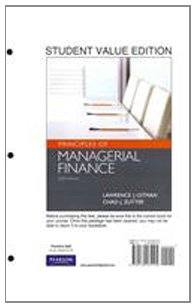 9780132738736: Principles of Managerial Finance, Student Value Edition plus MyFinanceLab with Pearson eText Student Access Code Card Package (13th Edition)