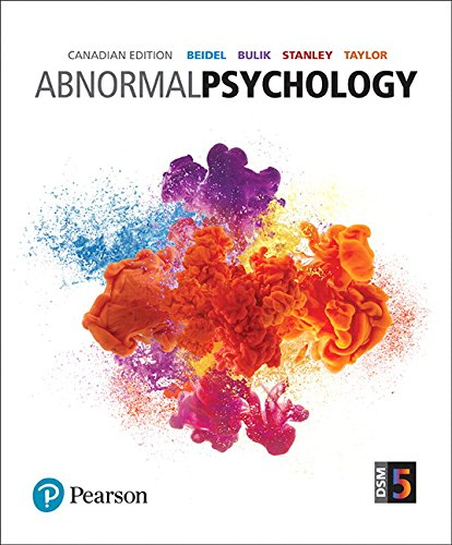 9780132738910: MyPsychLab with Pearson eText -- Standalone Access Card -- for Abnormal Psychology, First Canadian Edition