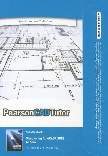 9780132739719: CADTutor -- Access Card -- for Discovering AutoCAD 2012