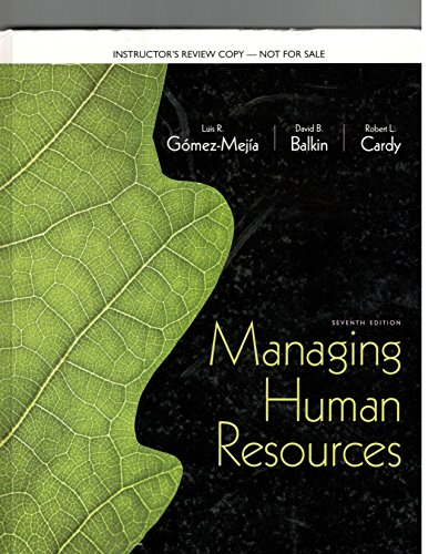 9780132743099: -Managing-human-resources ( Instruct-edition )