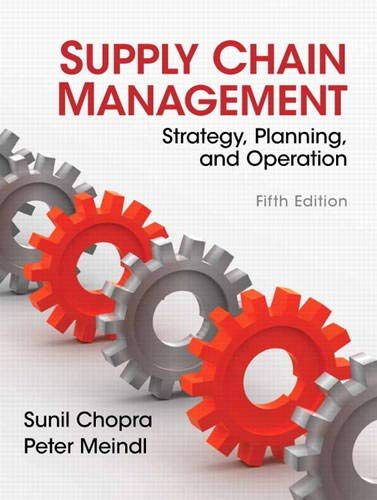 9780132743952: Supply Chain Management: Strategy, Planning, and Operation