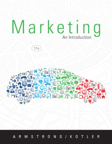 9780132744034: Marketing: An Introduction (11th Edition)