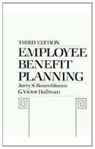 9780132744249: Employee Benefit Planning (The Prentice-Hall series in security and insurance)