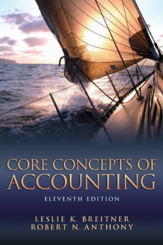 9780132744393: Core Concepts of Accounting (11th Edition)