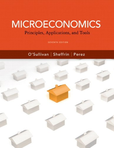 9780132744829: Microeconomics: Principles, Applications and Tools plus MyEconLab with Pearson Etext Student Access Code Card Package (7th Edition) (Pearson Series in Economics)