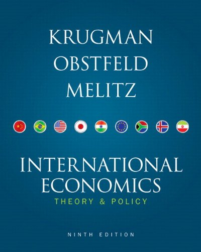 9780132744836: International Economics: Theory & Policy