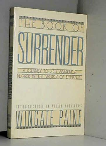 9780132745079: The Book of Surrender: A Journey to Self-Awarness Inspired by the Words of Emmanuel
