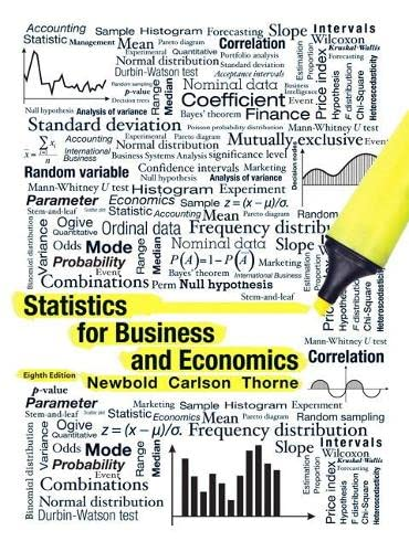 9780132745659: Statistics for Business and Economics (8th Edition)