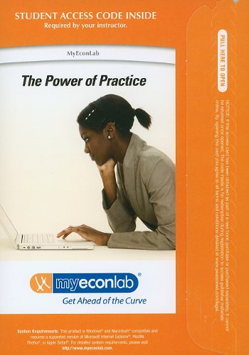 9780132747530: MyEconLab with Pearson eText -- Access Card -- for Principles of Economics (MyEconLab (Access Codes))