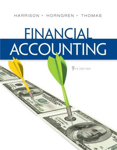 9780132751124: Financial Accounting (9th Edition)