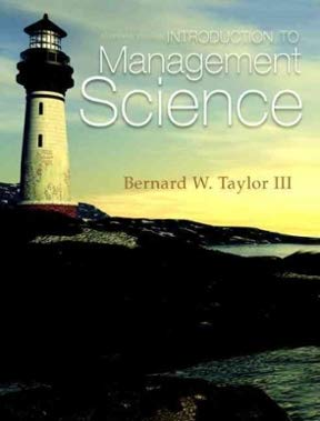 9780132751995: Introduction to Management Science (Instructor Review Copy)